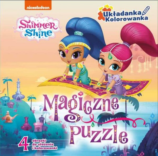 Shimmer i Shine Magiczne puzzle