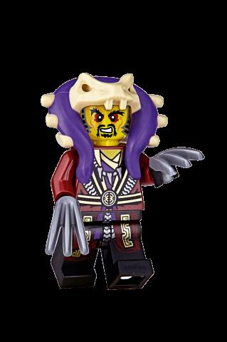 LEGO Ninjago magazyn 12/2017 + Mistrz CHEN + drugi zestaw klocków niespodzianka