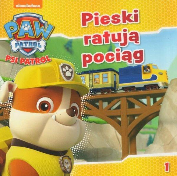 Psi Patrol 1 Pieski ratują pociąg