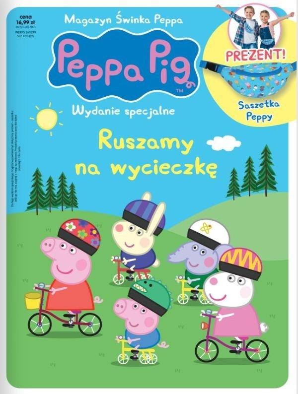 Świnka Peppa magazyn Wydanie specjalne Ruszamy na wycieczkę Saszetka Peppy 1/2020