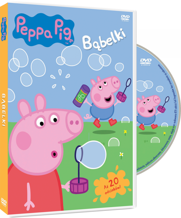 Peppa DVD Bąbelki