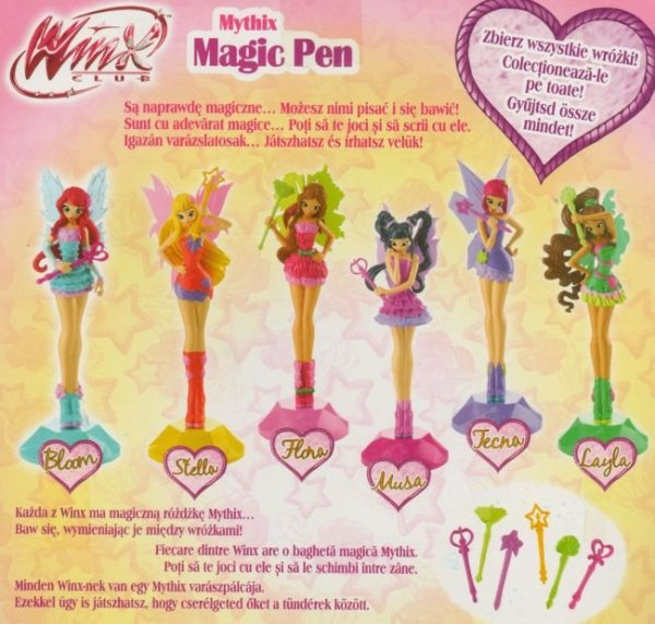 Winx Club Wydanie specjalnie 2/2016 + Mythix długopis Magic Pen