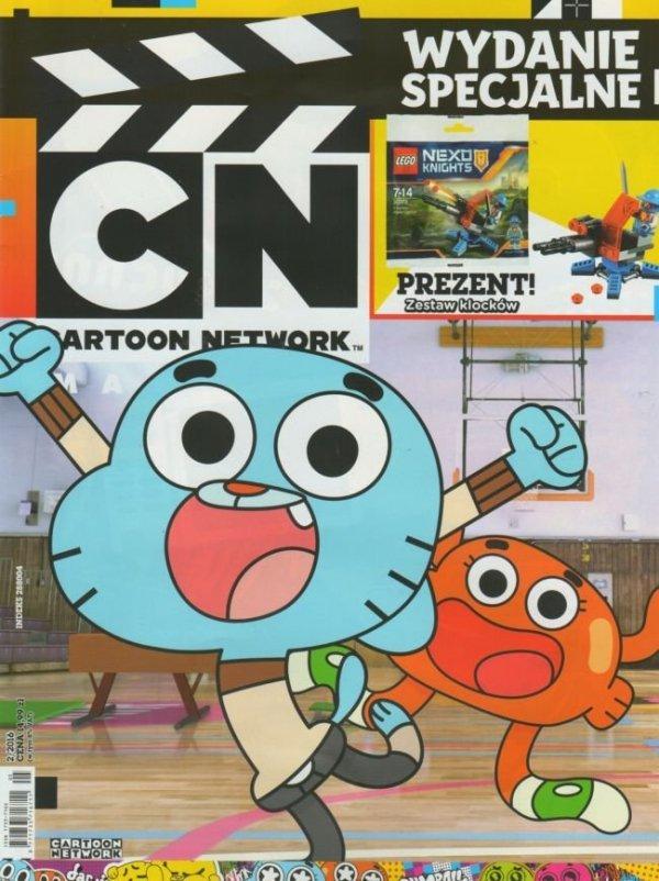Cartoon Network Wydanie specjalne 2/2016 + Klocki LEGO Nexo Knights 30373