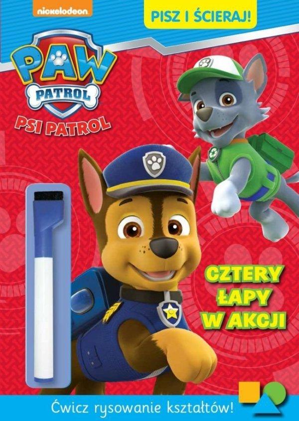 Psi Patrol Pisz i ścieraj! 1 Cztery łapy w akcji