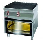 Kuchnia gazowa z płytą grzewczą z piekarnikiem gazowym 800x700x900 mm KROMET 700.KG/I-800/PG-2 700.KG/I-800/PG-2