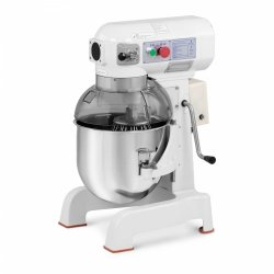 Mikser planetarny - 20 l - 700 W - opuszczana misa ROYAL CATERING 10011245 RCPM-20WP