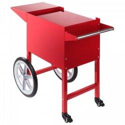 Wózek do popcornu - 51 x 37 cm - czerwony ROYAL CATERING 10010090 RCPT-16E
