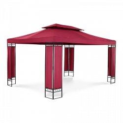Pawilon ogrodowy - prostokątny - czerwone wino UNIPRODO 10250046 UNI_PERGOLA_3X4RF