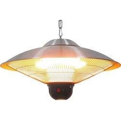 Lampa grzewcza wisząca ze zdalnym sterowaniem i oświetleniem LED STALGAST 692310 692310