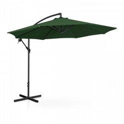 Parasol ogrodowy wiszący - Ø300 cm - zielony UNIPRODO 10250080 UNI_UMBRELLA_R300GR