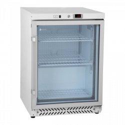 Chłodziarka - 170 l - podwójne drzwi - szkło hartowane ROYAL CATERING 10010915 RCGK-W200