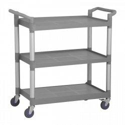 Wózek kelnerski - 3 półki - 180 kg ROYAL CATERING 10011012 RCSW 3P
