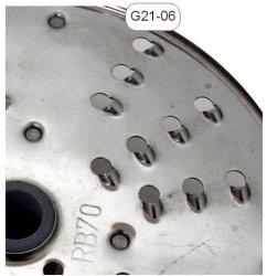 Tarcza nierdzewna wiórki 7mm MESKO-AGD G21-06 G21-06
