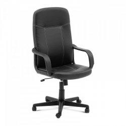 Fotel biurowy - oparcie z ekoskóry - 100 kg FROMM STARCK 10260282 STAR_SEAT_30