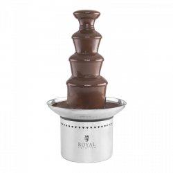 Fontanna czekoladowa - 4 piętra - 6 kg ROYAL CATERING 10010559 RCCF-230W