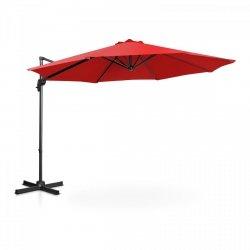 Parasol ogrodowy wiszący - Ø300 cm - czerwony UNIPRODO 10250094 UNI_UMBRELLA_2R300RE