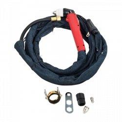 Uchwyt do cięcia plazmą z 4 metrowym przewodem SPARE PARTS 19001330 S-PLASMA 85H/125H 4M Cutting torch+cable