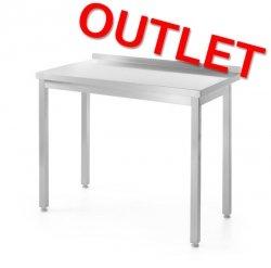 OUTLET | Stół roboczy przyścienny - skręcany HENDI 811252 811252