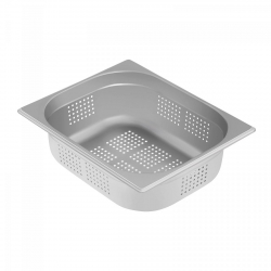 Pojemnik gastronomiczny - GN 1/2 - 100 mm - perforowany ROYAL CATERING 10011053 RCGN-P1/2X100
