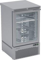 Stół chłodniczy z drzwiami przeszklonymi o pojemności 80l 500x530x890 DM-S-93043 DORA METAL DM-S-93043 DM-S-93043
