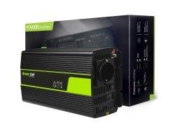 Przetwornica Green Cell® 24V na 230V Modyfikowana sinusoida 1500W GREEN CELL INV24