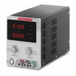 ZASILACZ LABORATORYJNY 0-30 V - 0-5 A DC - PRZEWÓD USB STAMOS 10021059 S-LS-29