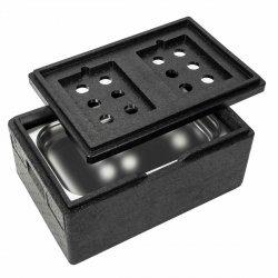 Gastrobox 47L - GN1/1 200MM + IZOLACJA CHŁODNICZA INVEST HORECA GBCH GASTROBOX47L IZOLACJA CHŁODNICZA