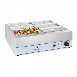 Bemar - 6 x GN 1/3 ROYAL CATERING 10010388 RCBM-6D-2000