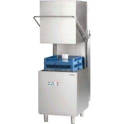 Zmywarko wyparzarka kapturowa 500x500, 10 kW z dozownikiem płynu myjącego i pompą wspomagającą płukanie STALGAST 803026 803026