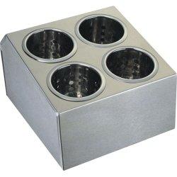 Pojemnik na sztućce - 4 częściowy STALGAST 815400 815400