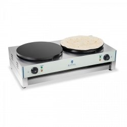 Naleśnikarka - 40 cm - 2 x 3000 W - 2.0 ROYAL CATERING 10010253 RCEC-6000-E