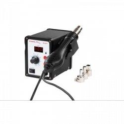 Stacja lutownicza - 650 W - kolba hot air - LED STAMOS 10020996 S-LS-3