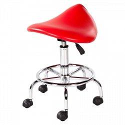 Hoker, krzesło siodłowe Physa Adonis czerwony PHYSA 10040023 Adonis-4023