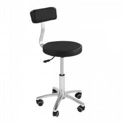 Krzesło kosmetyczne Physa Terni czarne PHYSA 10040060 TERNI BLACK