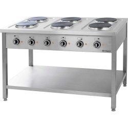 Kuchnia elektryczna wolnostojąca 6x2,5 kW STALGAST 979600 979600