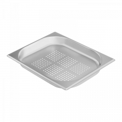 Pojemnik gastronomiczny - GN 1/2 - 40 mm - perforowany ROYAL CATERING 10011051 RCGN-P1/2X40