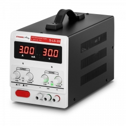 Zasilacz laboratoryjny - 0-30 V - 0-3 A DC - LED STAMOS 10021063 S-LS-33