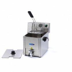 Elektryczna frytownica Maxima 1 x 8L z kranem MAXIMA 09300415 09300415
