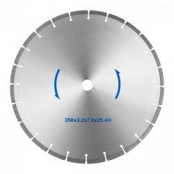 Tarcza do piły do kamienia - 350 mm - 25,4 mm MSW 10060808 MSW-TB-350/25