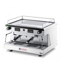 Ekspres do kawy HENDI Top Line by Wega 2-grupowy elektroniczny, czarny HENDI 208946 208946