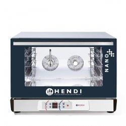 Piec piekarniczy konwekcyjny z nawilżaniem HENDI NANO – 4x 600x400 mm -elektryczny, sterowanie elektroniczne HENDI 223314 223314