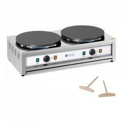 Naleśnikarka - 2 płyty grzewcze - 2 x 400 mm - 2 x 3000 W ROYAL CATERING 10012040 RC-CMD01