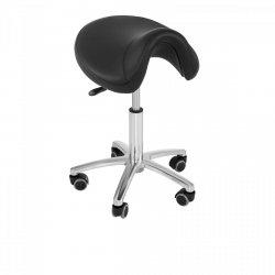 Krzesło siodłowe Physa Sorano czarne