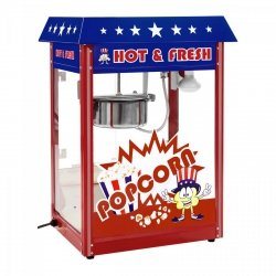 Maszyna do popcornu - amerykański design ROYAL CATERING 10010539 RCPR-16.1