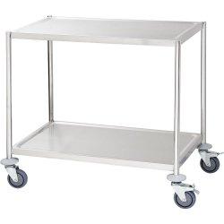 Wózek kelnerski 2-półkowy płaski bez rączek STALGAST 661040 661040