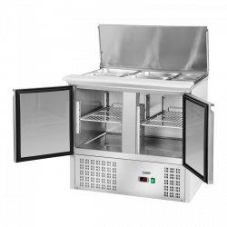 Stół chłodniczy - 90 x 70 cm ROYAL CATERING 10010925 RCKT-90/70-3