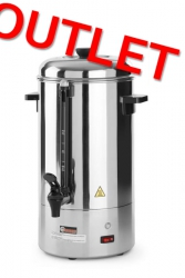OUTLET | Zaparzacz do kawy o pojedynczych ściankach 6 l  HENDI 208007 208007