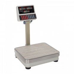 Waga sklepowa Steinberg Systems SBS-PW-60/5 60kg podziałka 5g biała LCD STEINBERG 10030110 SBS-PW-60/5