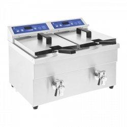 Frytownica indukcyjna - 2 x 10 litrów - 60-190°C ROYAL CATERING 10010343 RCIF-10DB