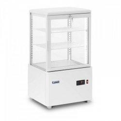 Witryna chłodnicza - 58 l - biała ROYAL CATERING 10011913 RCCC-58-W
